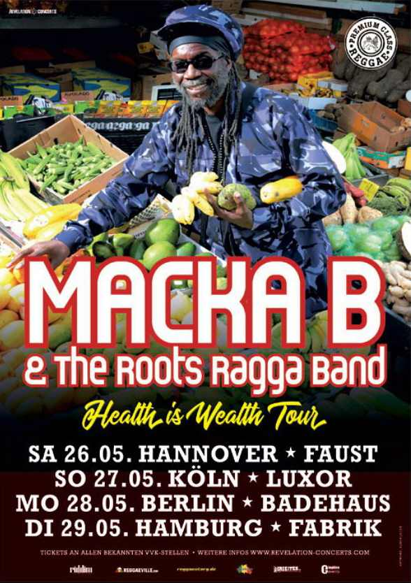 Macka B - Germany Tour