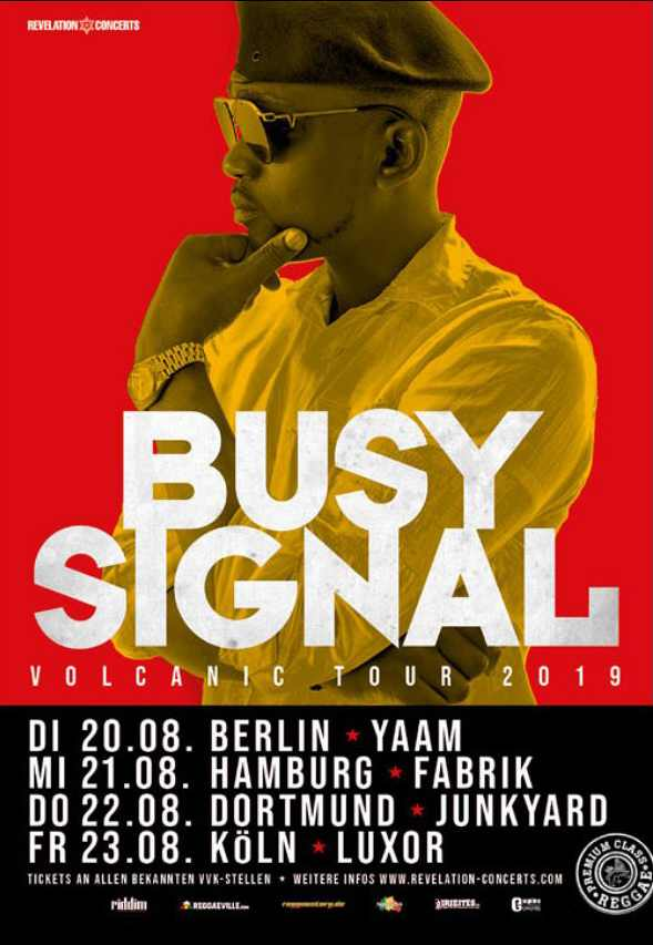 Busy Signal - Germany
