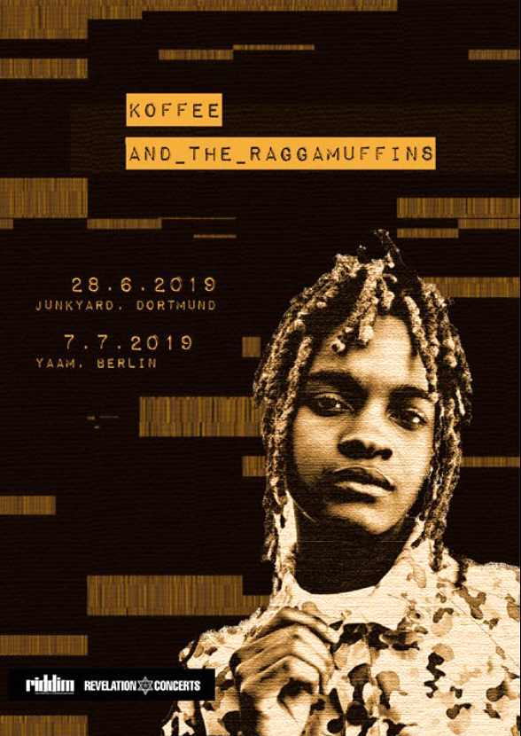 Koffee - Club-Tour Germany