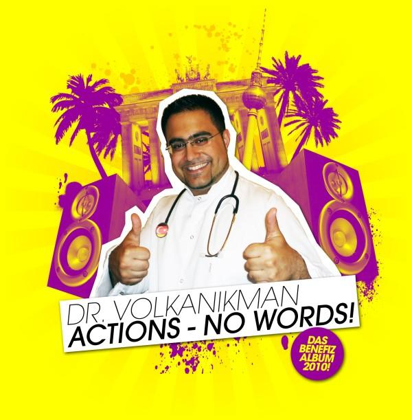 Volkanikman - Actions No Words