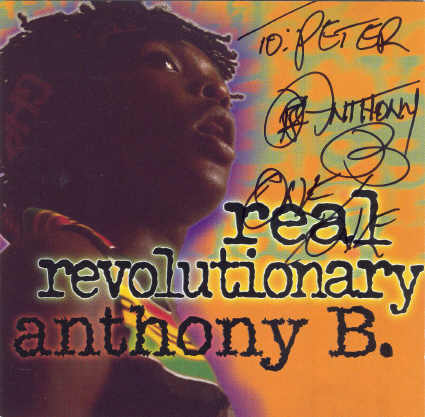 Anthony B - Real Revolutionary - Album 1996