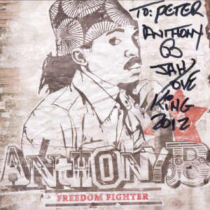 Anthony B - Fredom Fighter - Album 2012