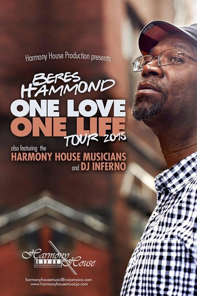 Beers Hammond - One Love, One Life Tour 2015