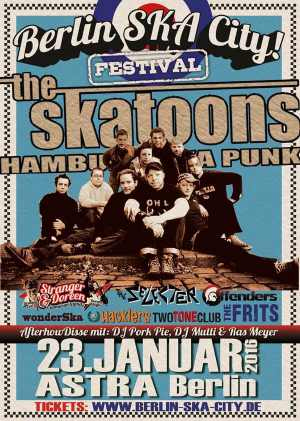 The Skatoons - Berlin Ska City 2016