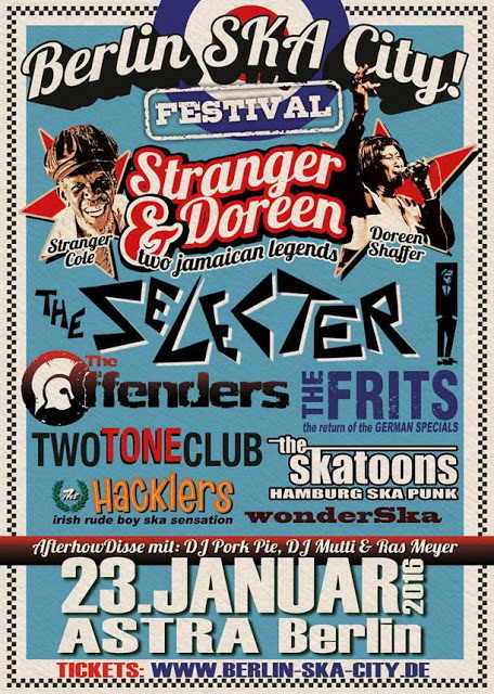 Berlin Ska City 2016 - Poster