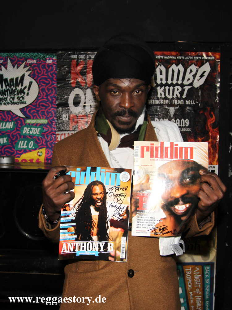 Anthony B & Riddim Mag