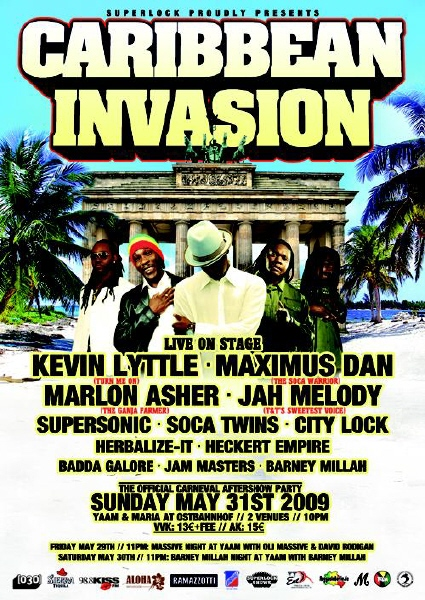 Caribbean Invasion
