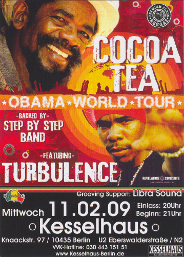 Cocoa Tea & Turbulence