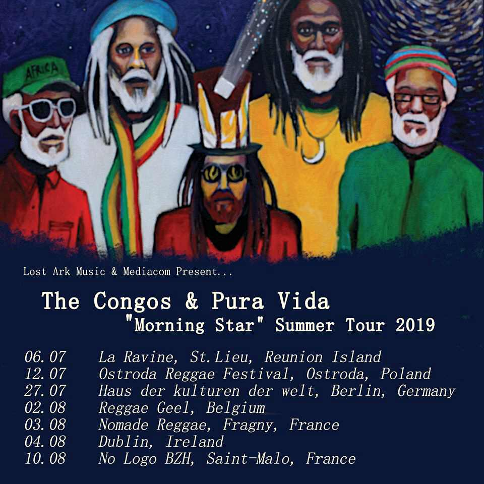 The Congos & Pura Vida - Tour 2019