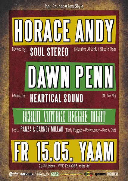Horace Andy + Dawn Penn