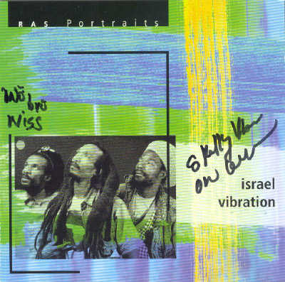 Israel Vibration - Ras Portraits - CD 1997