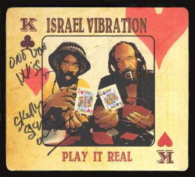 Israel Vibration - Play It Real - Album 2015