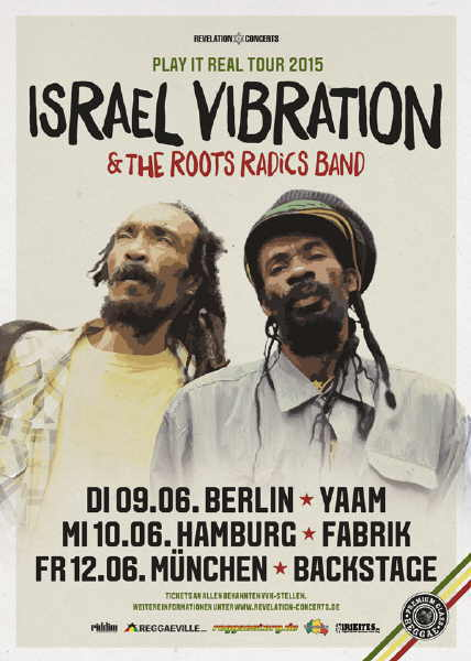 Israel Vibration - YAAM Flyer