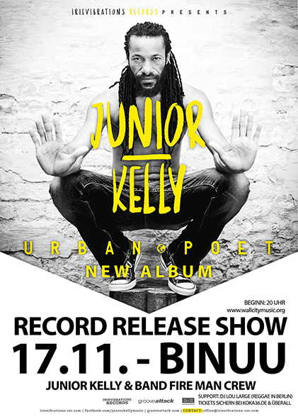 Junior Kelly - BiNuu Flyer
