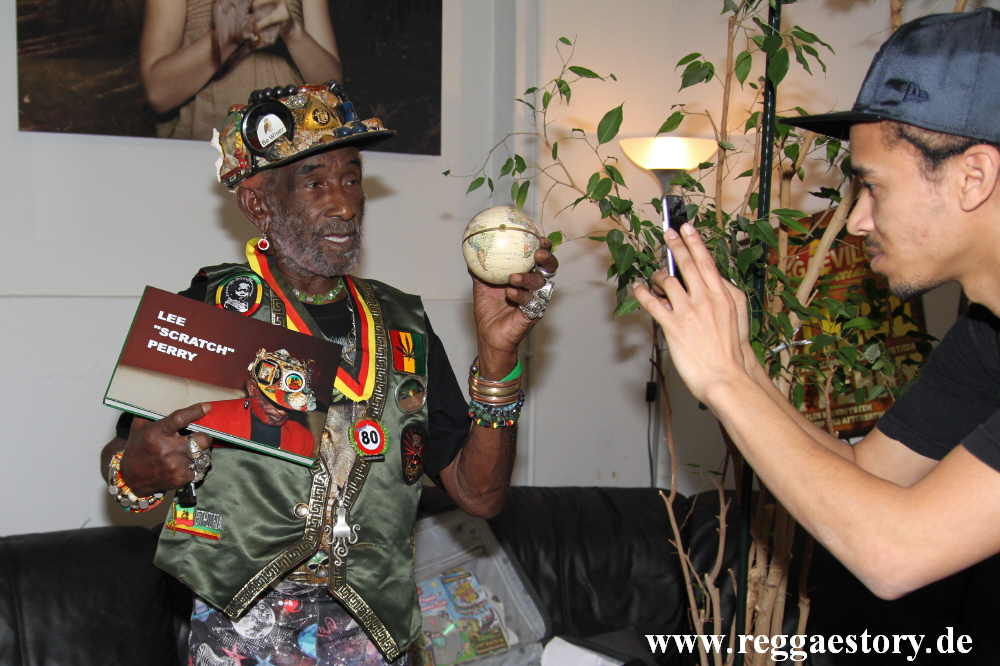 Lee Scratch Perry & Noel Perry