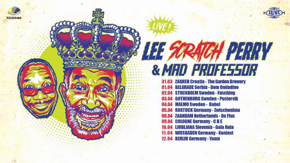 Lee Perry & Mad Professor - Europe Tour 2018