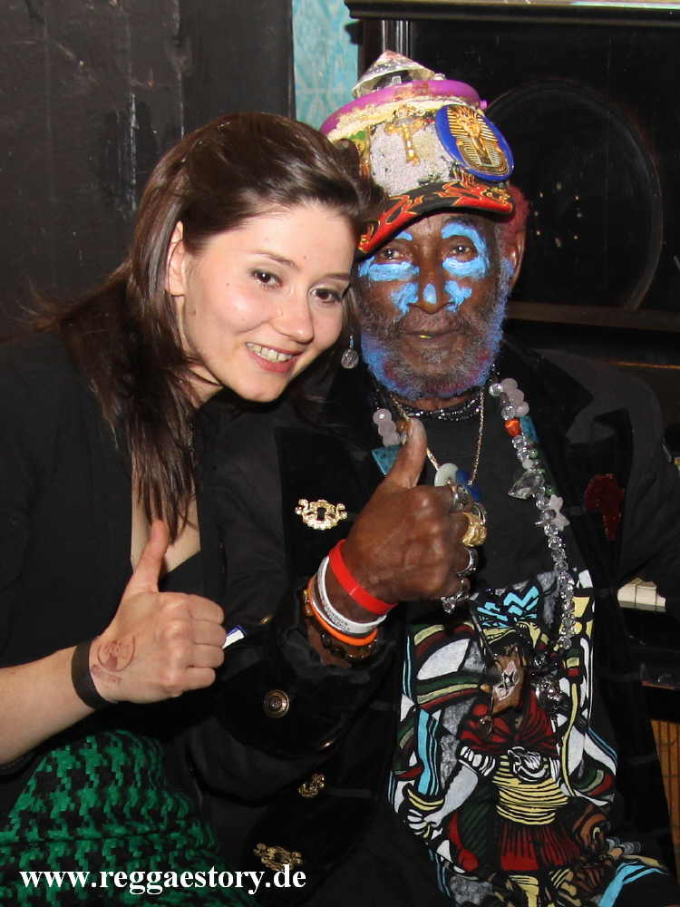 Lee Scratch Perry & Maria - YAAM Berlin