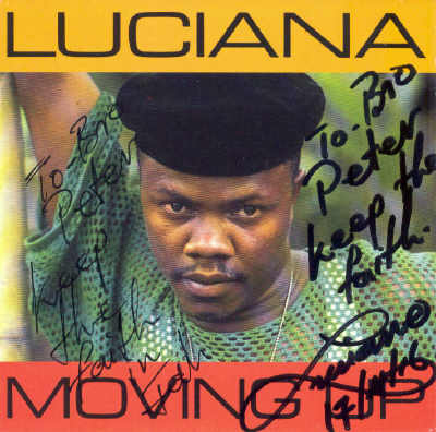 Luciana - Moving Up - Album 1993
