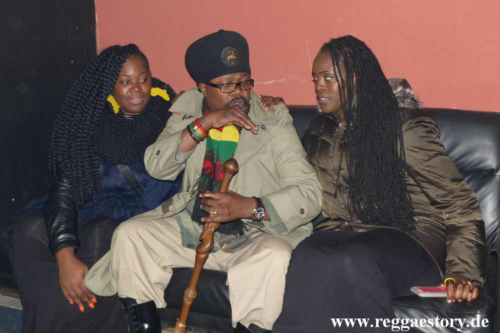 Alison Campbell, Luciano and Toyin Gbomedo