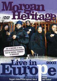 Morgan Heritage - Live In Europe 2003 - 2003 DVD