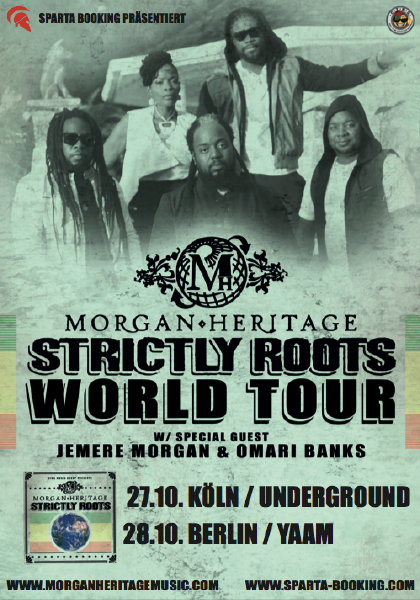 Morgan Heritage - YAAM Flyer