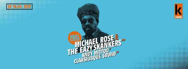 Michael Rose & The Eazy Skankers - Basel