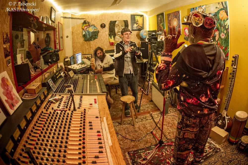 Lee Perry im Last Ark Studio