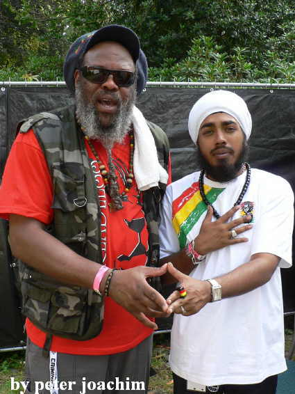 Ras Tula and Indifrica - Members of Horace Martin Band