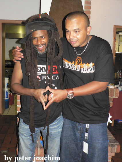 David Hinds and Ashraf