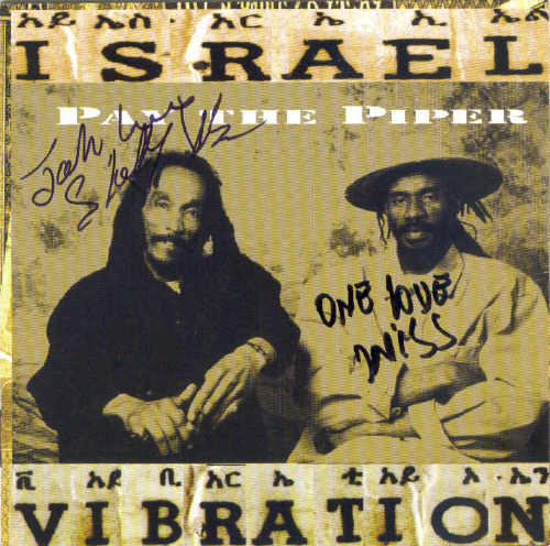 Israel Vibration - Pay The Piper - Album 1999