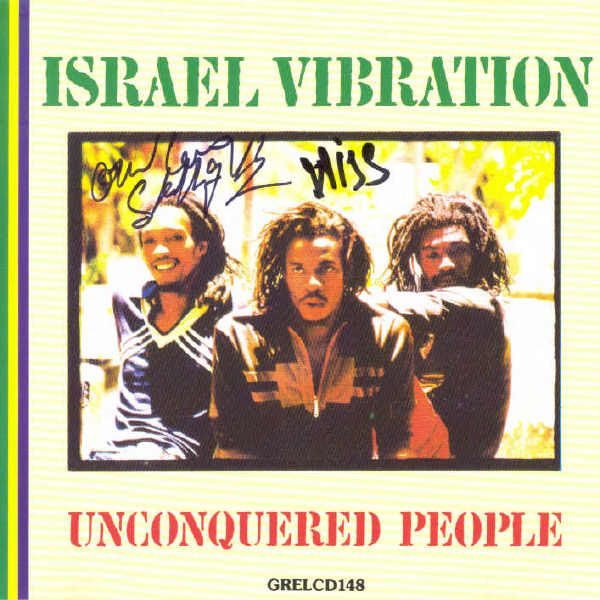 Israel Vibration - Unconquered People - Album 1980