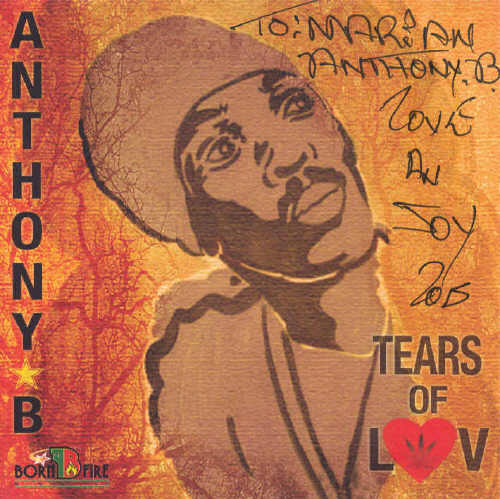 Anthony B - Tears Of Love - Album 2015