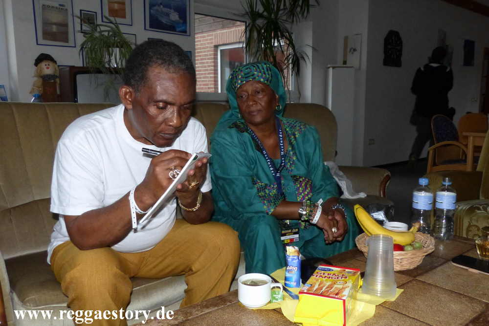 Ken Boothe and his wife Joan