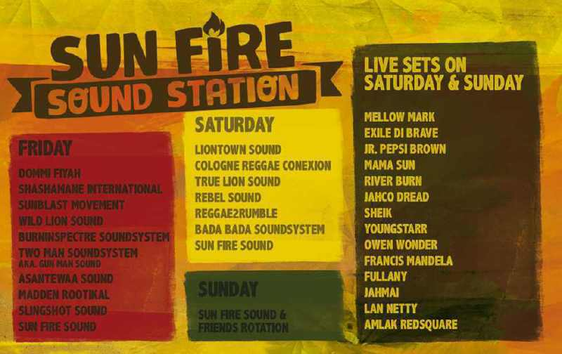 Sun Fire Sound Station