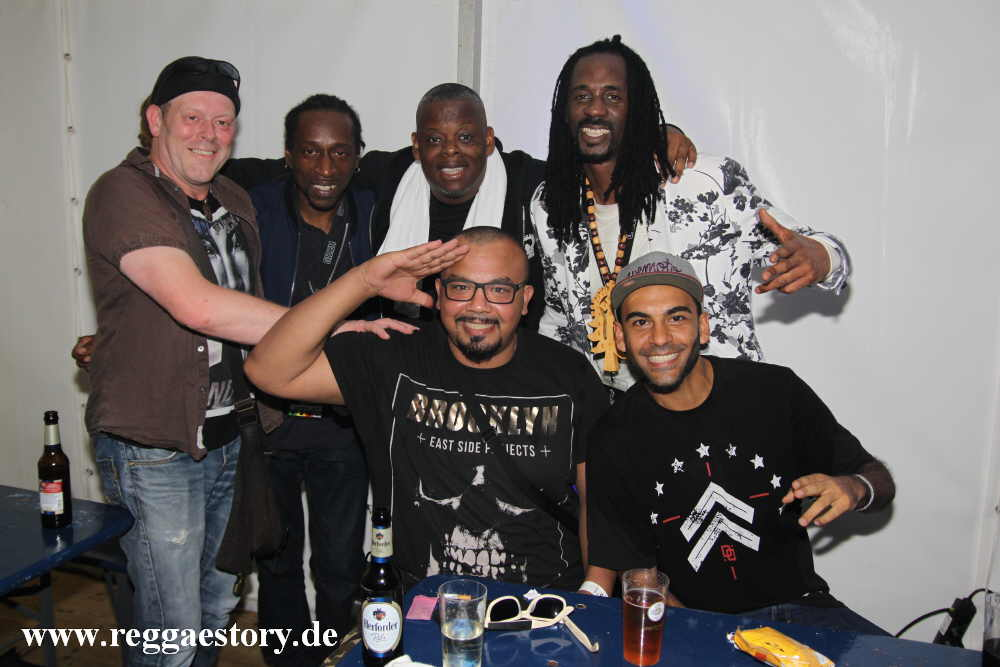Sheriff, JB Baker, Tippa Irie, General Levy & Blessed Love