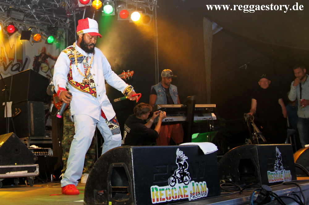 Warrior King - Reggae Jam 2017