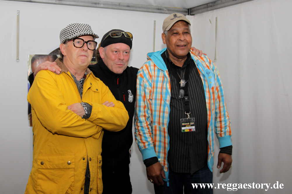 David Rodigan, Bernd Sheriff Lagemann + King Jammy
