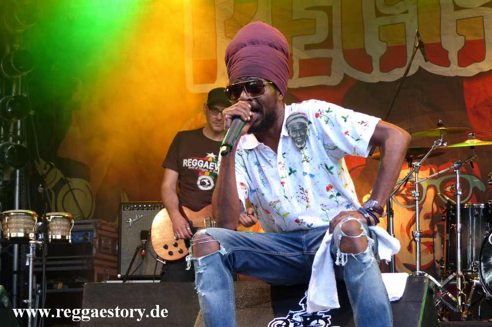 Perfect Giddimani & House of Riddim - Reggae Jam 2017