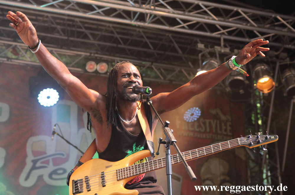 Pot. A. Rice - Black Heart Band - Reggae Jam 2018