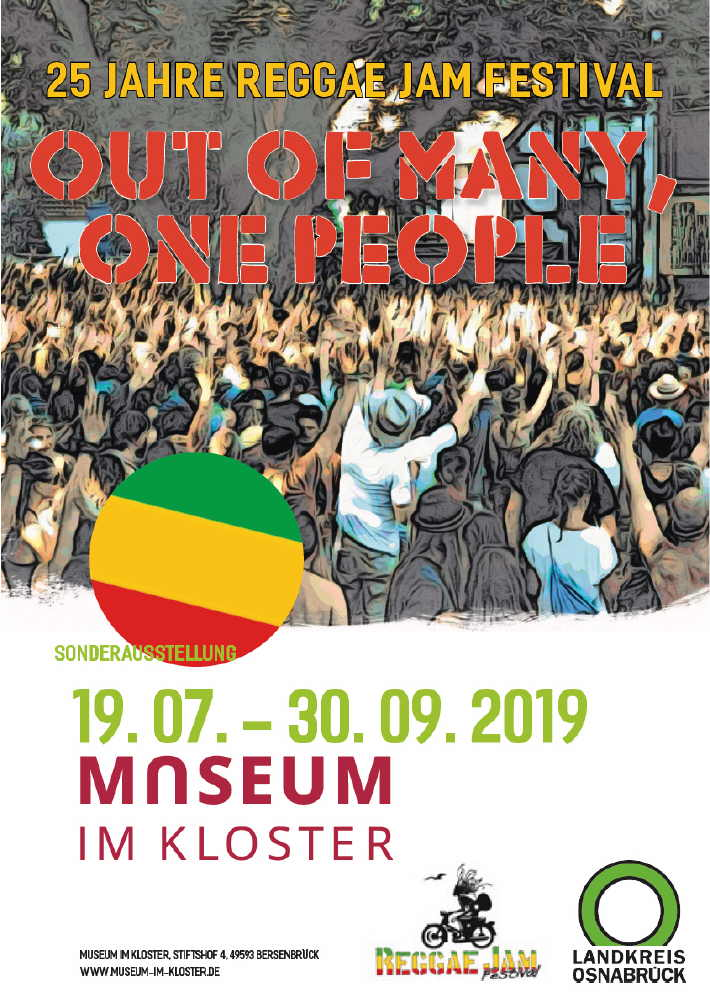 25 Jahre Reggae Jam - Out Of Many, One People - Ausstellung