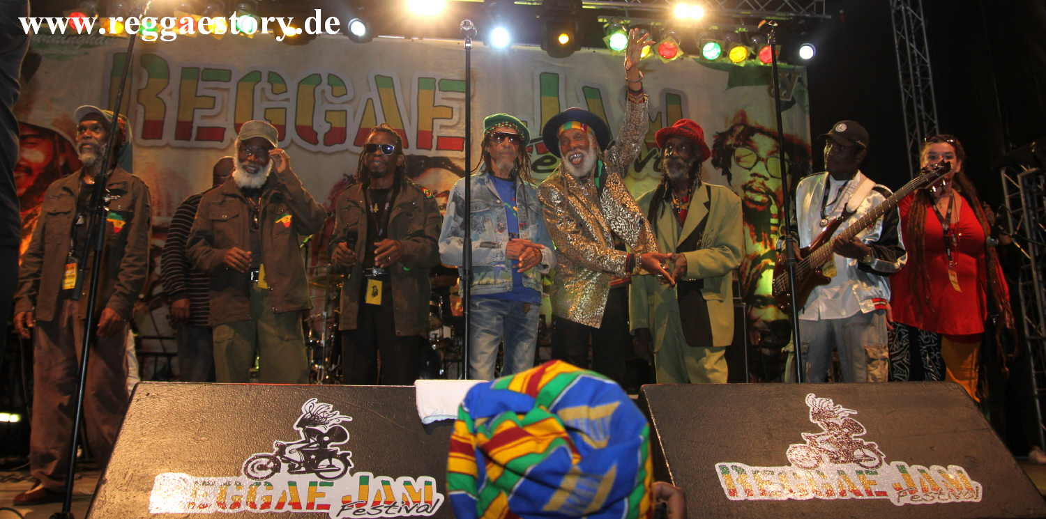 Rockers Performance - Reggae Jam 2019
