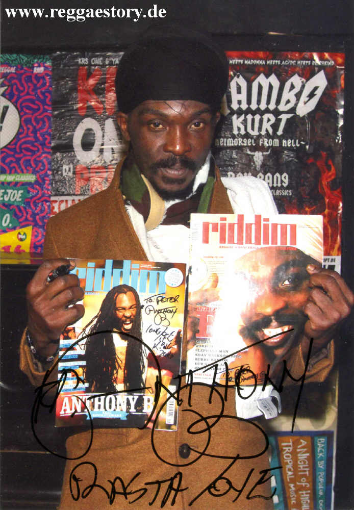 Anthony B & Riddim Magazine