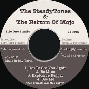 Steadytones - Return of Mojo - Promotion EP 2012