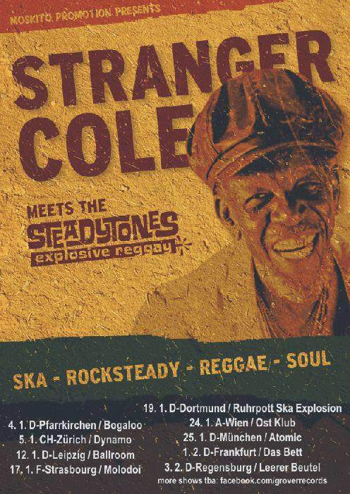 Stranger Cole Tourposter
