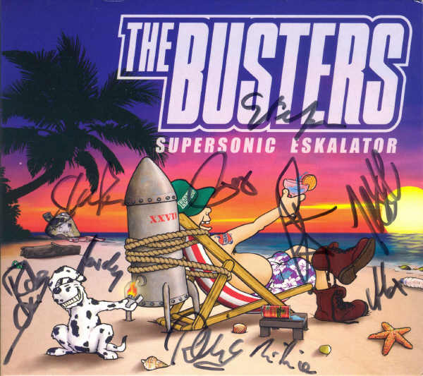 The Busters - Supersonic Eskalator