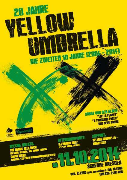 20 Jahre Yellow Umbrella