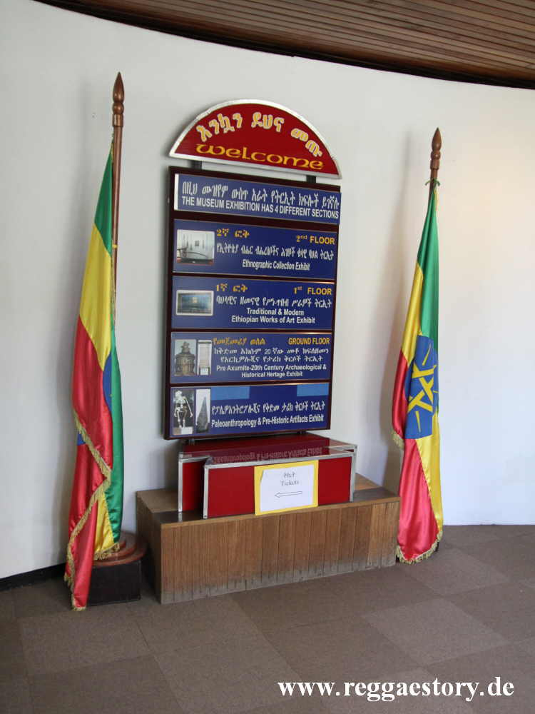 Addis Ababa - Nationalomuseum