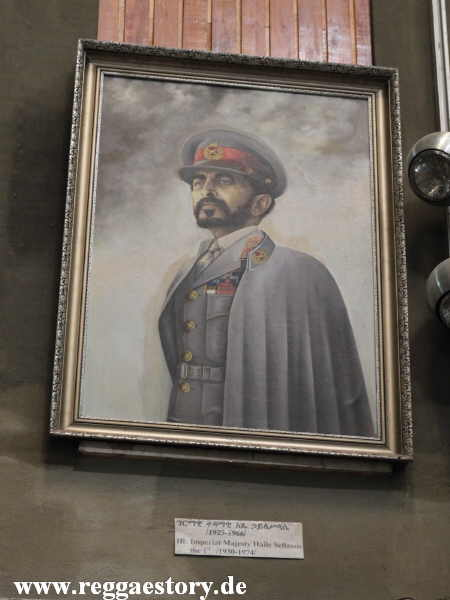 Addis Ababa - Nationalmuseum - Haile Selassie