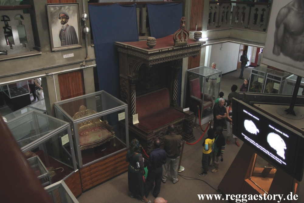 Addis Ababa - Nationalmuseum