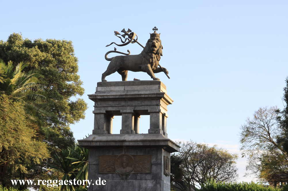 Addis Ababa - Lion of Juda